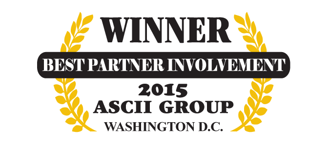 QuoteWerks was honored to be awarded Best Partner Involvement at ASCII Washington