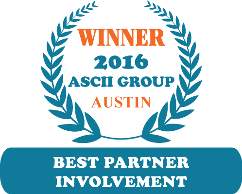 QuoteWerks was honored to be awarded Best Partner Involvement at ASCII Austin 2016
