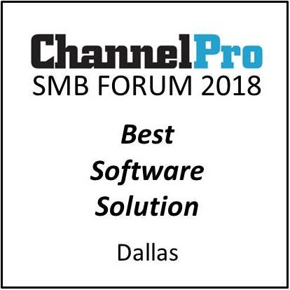 QuoteWerks was honored to be awarded Best Software Solution Dalla 2018