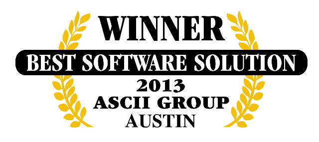 QuoteWerks was honored to be awarded Best Software at ASCII Austin