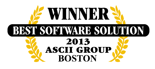 QuoteWerks was honored to be awarded Best Software at ASCII Boston