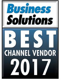QuoteWerks CPQ wins Best Channel Vendor - Quoting Solution - Proposals and Estimates (CPQ) - Business Solutions Magazine 2017